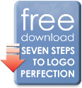 "Free e-book download ""7 steps to logo perfection"""