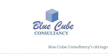 Blue Cube's old logo